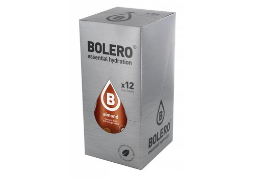 BOLERO Amandel 12 stuks met Stevia