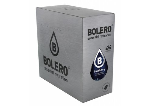 BOLERO Blauwe Bes 24 stuks met Stevia