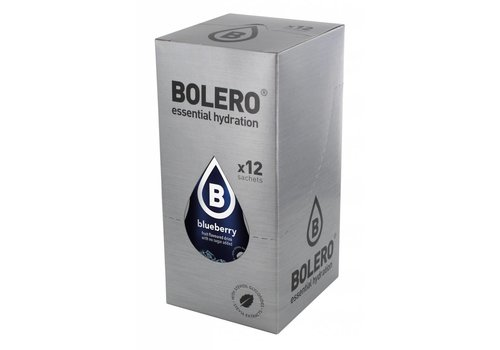 BOLERO Blauwe Bes 12 stuks met Stevia