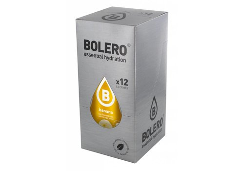 BOLERO Banana 12 sachets with Stevia