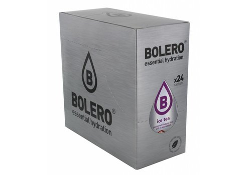 BOLERO ICE TEA Passion Fruit 24 sachets with Stevia