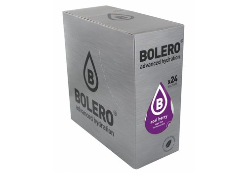 BOLERO Açai Berry 24 sachets with Stevia