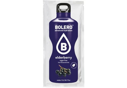 BOLERO Elderberry with Stevia