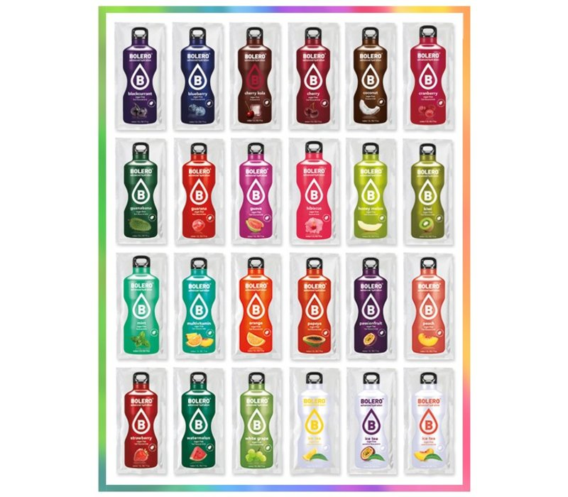 CHOOSE 24 FLAVOURS MIXED PACKAGE