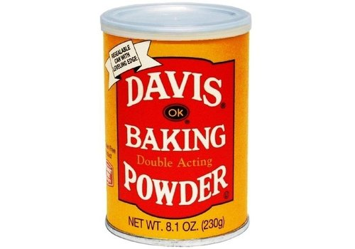 DAVIS BAKING POWDER 8.1oz (230g)