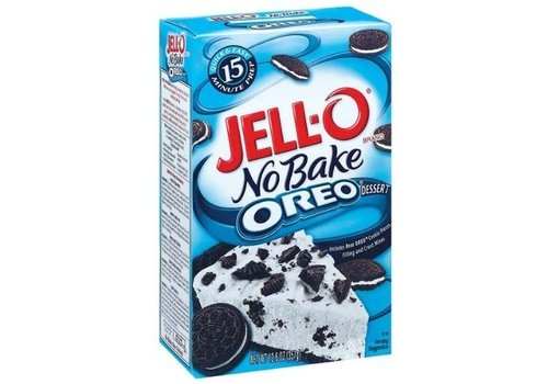 JELL-O NO BAKE OREO DESSERT 12.6oz (357g)