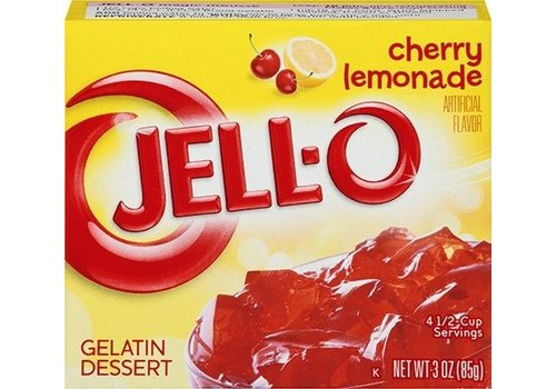 JELL-O CHERRY LEMONADE GELATIN 3oz (85g)