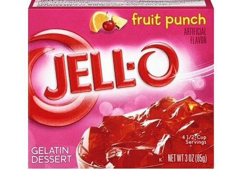 JELL-O FRUIT PUNCH GELATIN 3oz (85g)