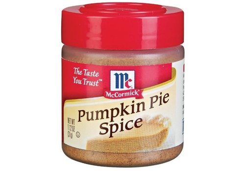 McCORMICK PUMPKIN PIE SPICES MIX 1.12oz (31g)