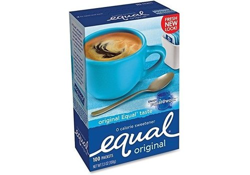 EQUAL ORIGINAL SWEETENER 100CT 3.5oz (100g)