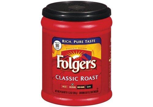 FOLGERS CLASSIC ROAST GROUND COFFEE 11Z