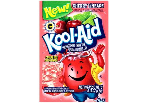 KOOL-AID CHERRY LIMEADE UNSWEETENED DRINK MIX 2QT