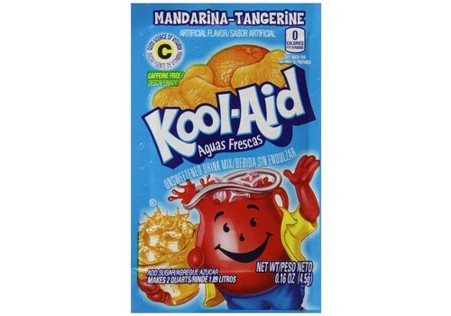 KOOL-AID MANDARIN/TANGERINE UNSWEETENED DRINK MIX 2QT