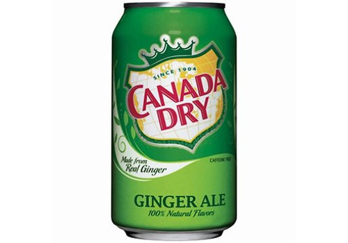CANADA DRY GINGER ALE 12 oz