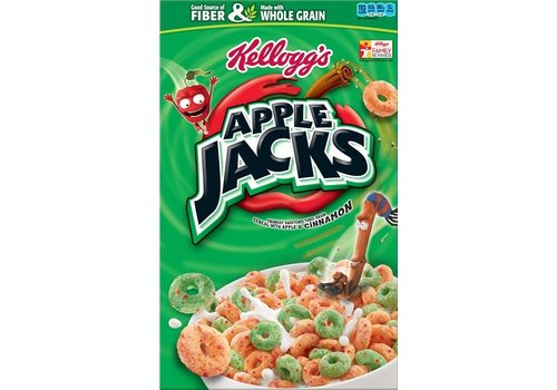 KELLOGG'S APPLE JACKS 12.2oz (345g)