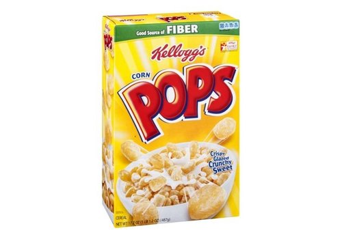 KELLOGG'S CORN POPS 17.2oz (487g)