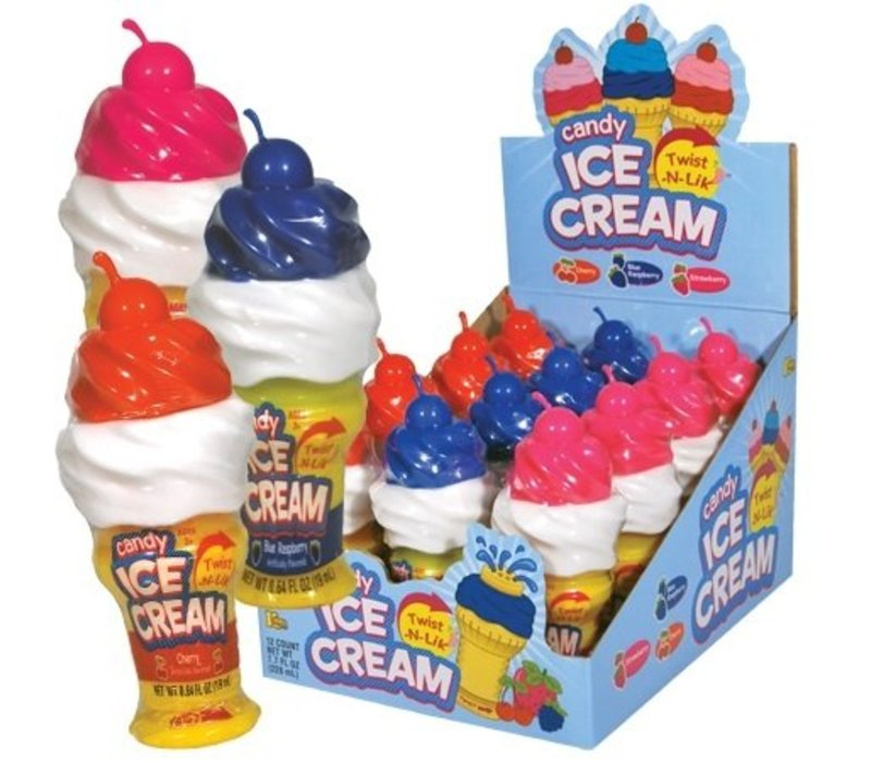 TWIST-N-LIK ICE CREAM CANDY 0.64oz (19ml)