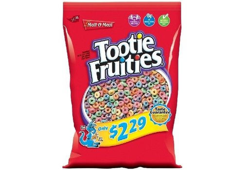 MALT-O-MEAL TOOTIE FRUITIES ZAK KLEIN 11.5oz (326g)