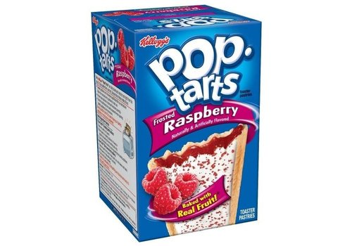 KELLOGG'S FROSTED POP TARTS RASPBERRY 14.7oz (416g)
