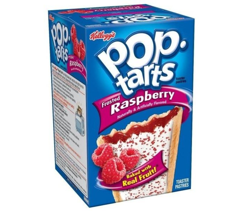 FROSTED POP TARTS RASPBERRY 14.7oz (416g)