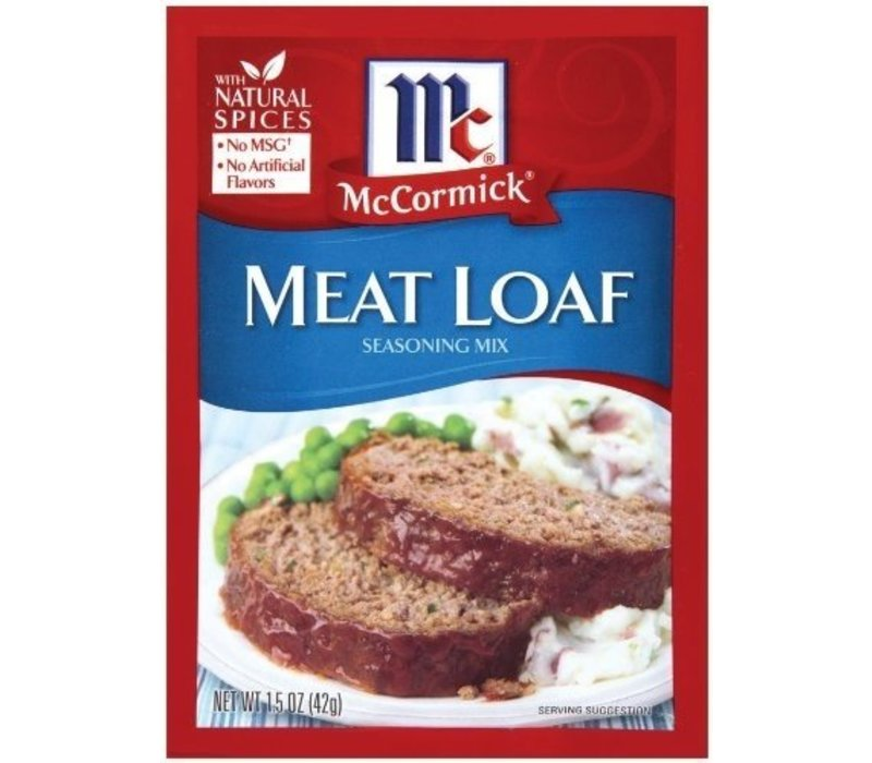 MEAT LOAF SEASONING MIX 1.5oz (42g)