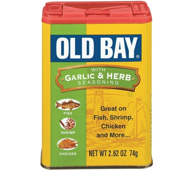 OLD BAY GARLIC & HERB SEASONING 2.62oz (74g)