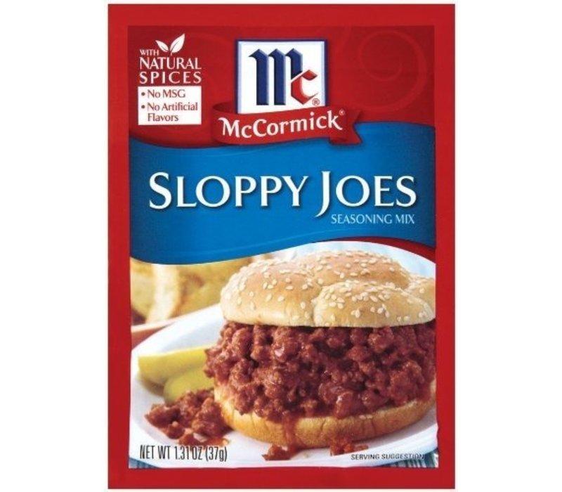SLOPPY JOES SEASONING MIX 1.31oz (37g)
