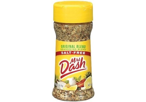 MRS DASH ORIGINAL SALT FREE ORIGINAL SEASONING MIX 2.5oz (71g)