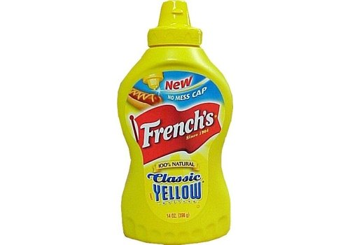 FRENCH'S YELLOW MUSTARD SQUEEZE BOTTLE 14oz (396g)