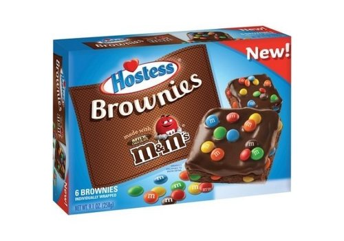HOSTESS BROWNIES WITH M&M'S 9.1oz (258g)