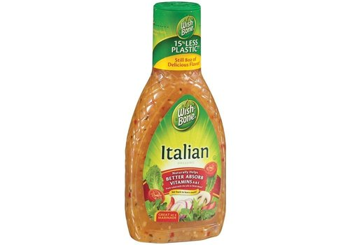 WISHBONE ITALIAN SALAD DRESSING 8oz (237ml)
