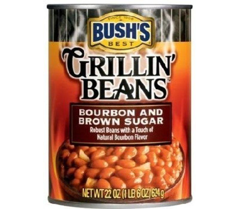 GRILLIN BEANS BOURBON & BROWN SUGAR 22oz (624g)