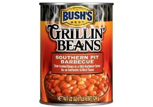 BUSH'S GRILLIN BEANS SOUTHERN PIT BBQ 22oz (624g)