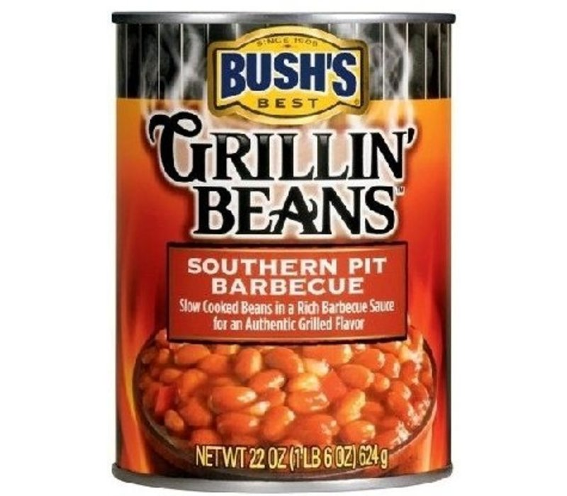 GRILLIN BEANS SOUTHERN PIT BBQ 22oz (624g)