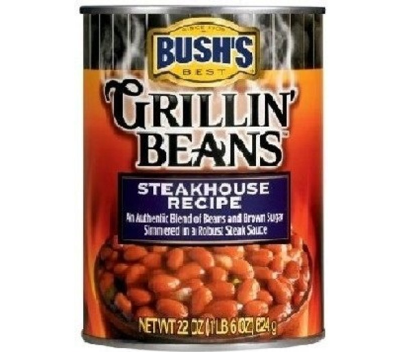 GRILLIN BEANS STEAKHOUSE RECIPE 22oz (624g)