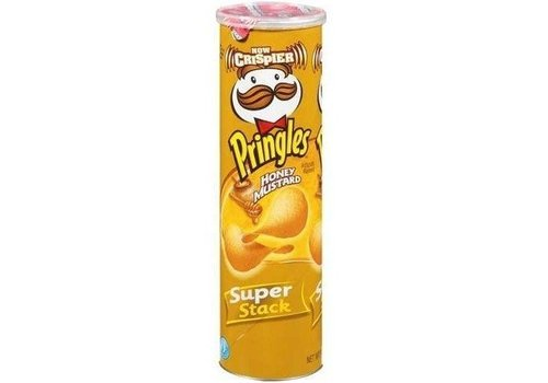 PRINGLES HONEY MUSTARD POTATO CRISPS  5.5oz (158g)