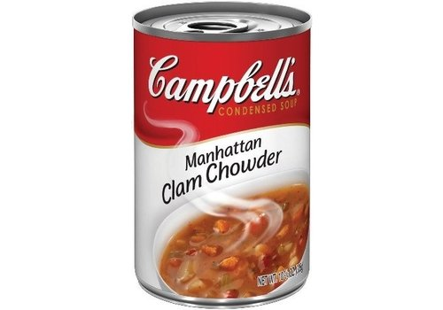 CAMPBELL'S MANHATTAN CLAM CHOWDER 10.75oz (305g)
