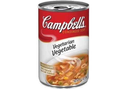 CAMPBELL'S VEGETARIAN VEGETABLE 10.5oz (298g)