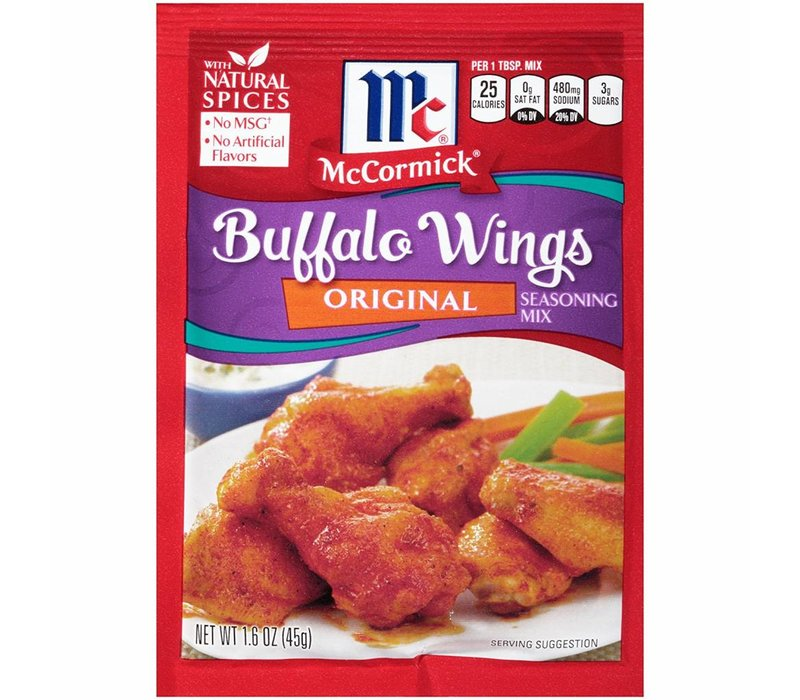 ORIGINAL BUFFALO WING MIX 1.6oz (45g)