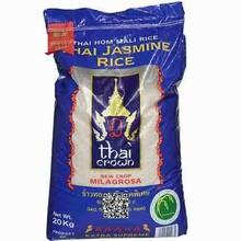 Thai Crown Thai Jasmine Milagrosa Fragrant Rice 10kg