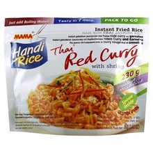 Mama Instant Fried Rice - Red Curry With Shrimps - 1 x 80g