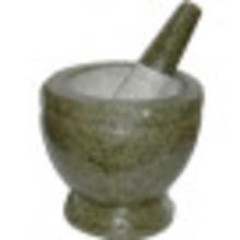 "Cookware stone Pestle & Mortar 6"""