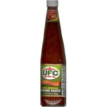 UFC Banana Sauce Regular 550g
