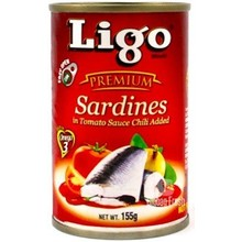 Ligo Sardines in Chilli Sauce 155g