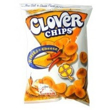 Leslies Clover Chips Chilli & Cheese 85g