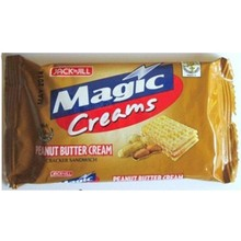 Jack & Jill Magic Creams Peanut Butter 10 x 28g