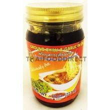 Double Seahorse Ground Chilli & Garlic in Oil 227g