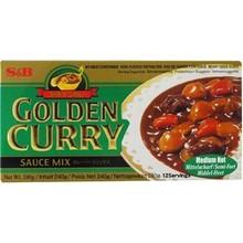 S & B Japanese Golden Curry Medium Hot 240g