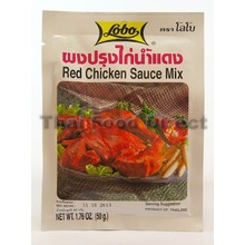Lobo Red Chicken Sauce Mix 50g