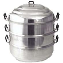 Cookware Diamond Aluminium Steamer 3 tier pot 22cm